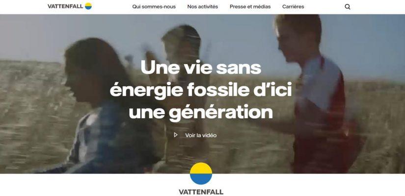 Bandeau Vattenfall