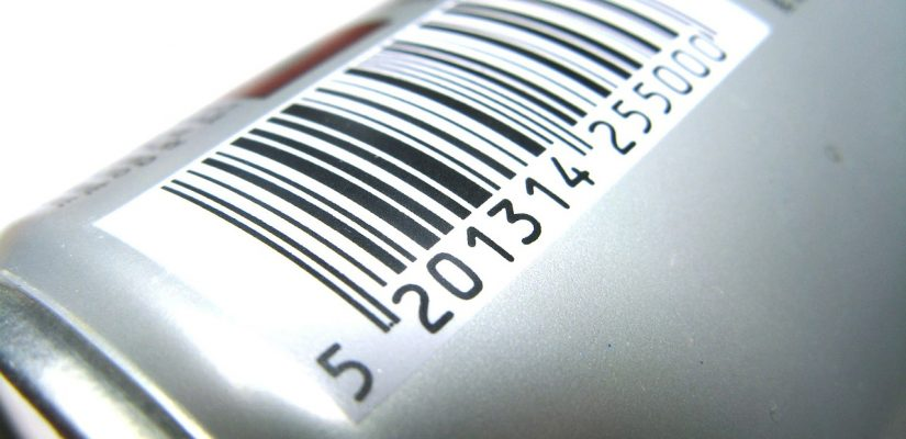 code barre surune canette de boisson